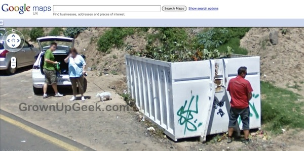 Funny Google Map Street View