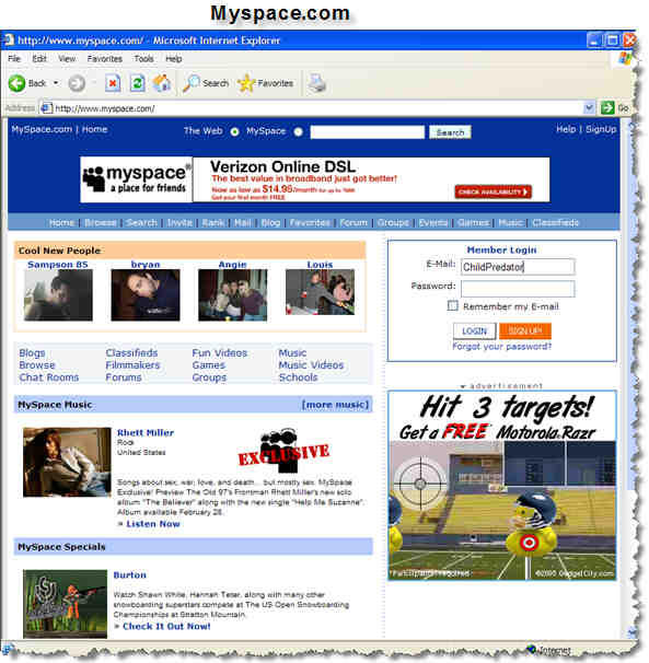 myspace chat
